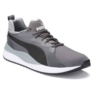 New puma men's pacer next sneakers 10.5 gray black